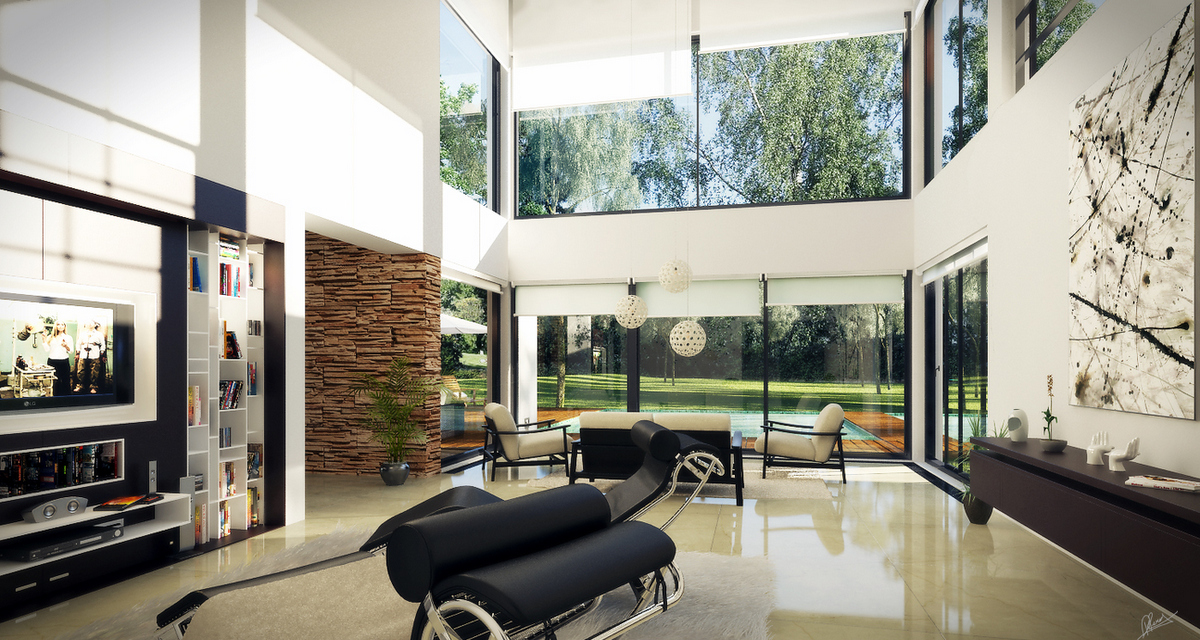decluttered modern house - Decluttering House