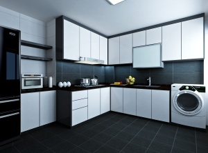 Kitchen without clutter