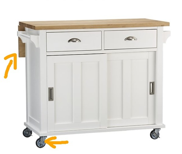 mobile kitchen island mobile kitchen island the declutter professionals 4181