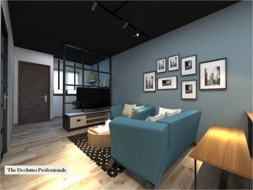 Living area (Declutter)