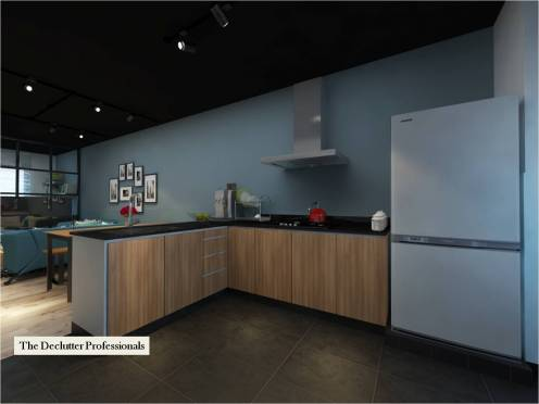 Open Kitchen (Declutter)